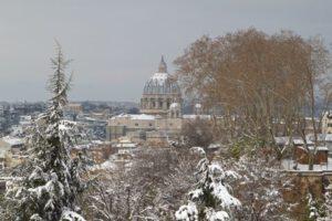 Scatti qua e la - Roma e la Neve