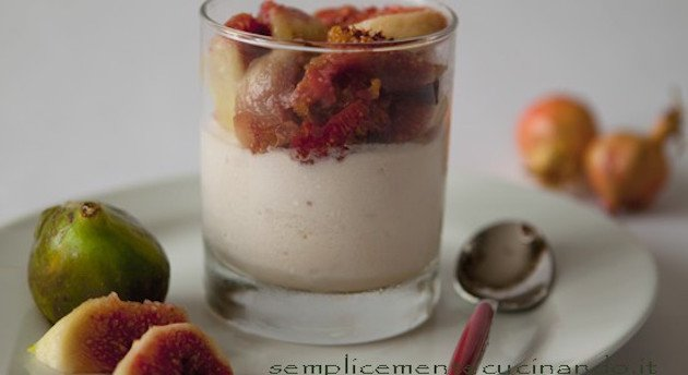 Semifreddo allo yogurt e fichi