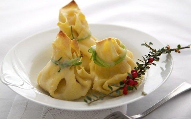 Fagottini al ragù di cernia - La ricetta su Semplicemente Cucinando