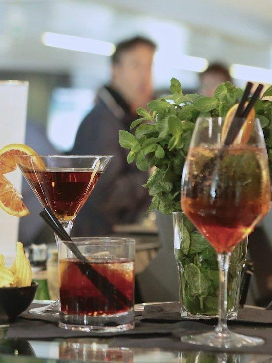 Inaugurato il Mercedes Benz Cafè a Fiumicino - aperitivo