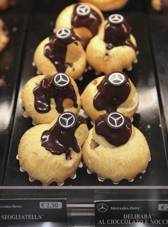 Inaugurato il Mercedes Benz Cafè a Fiumicino - i Dolci