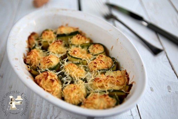 ricetta di anelli di zucchine in teglia su semplicemente cucinando