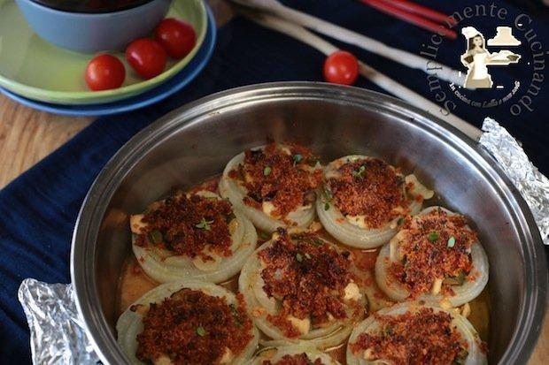 cipolle bianche ripiene - La ricetta di Semplicemente Cucinando