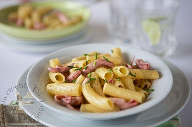 Elicoidali Pasta La Molisana con cannolicchi mantecati