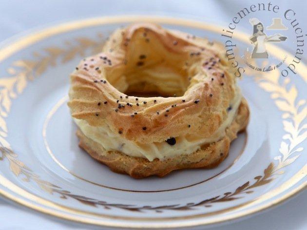 Paris-Brest con chantilly al Parmigiano Reggiano