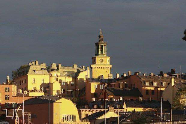 Stoccolma, io ed un solstizio d'estate -il tramonto