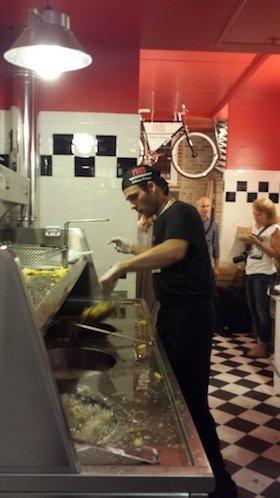 Inaugurato a Roma Fries - La frittura