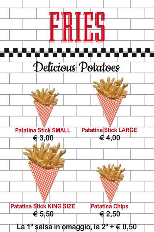 Inaugurato a Roma Fries