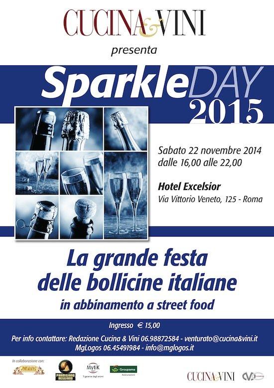 SparkleDay 2015 - L'evento del 22 novembre 2014 a Roma