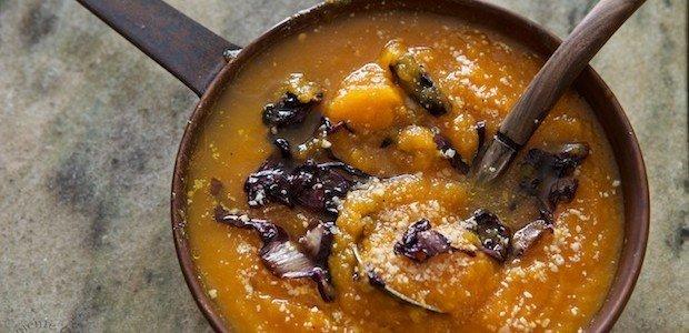 Crema di zucca con radicchio rosso di Treviso - La ricetta ed il commento del nutrizionista