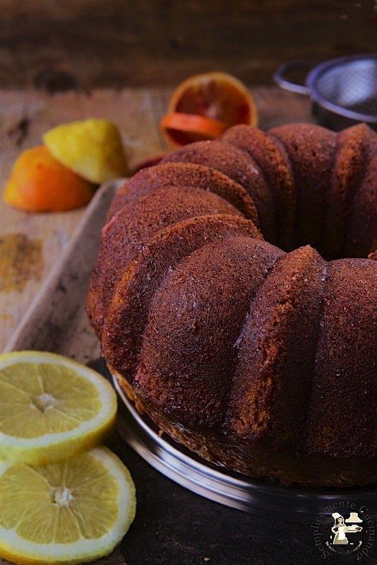 poppy seed citrus cake - La ricetta di california bakery