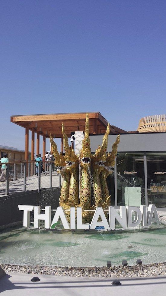 Padiglione Thailandia per irpinia, Expo 2015 ed io