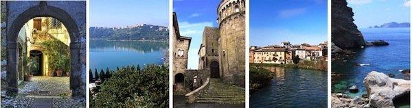 storia tradizioni ed itinerari del gusto del Lazio provincie del lazio