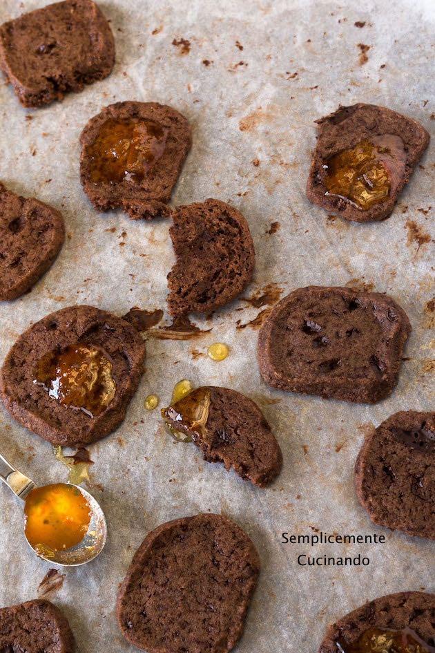 sablés al cioccolato - La ricetta
