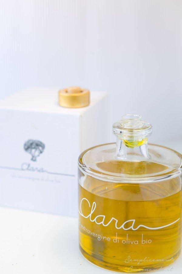 La ricetta del carpaccio di fragolino per Olio Clara