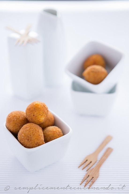 crocchette di semolino e latte