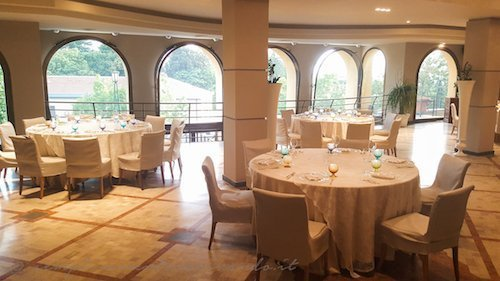 sala pranzo da Cacciani a Frascati