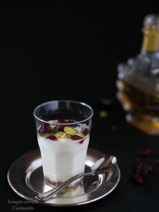 semifreddo allo yogurt