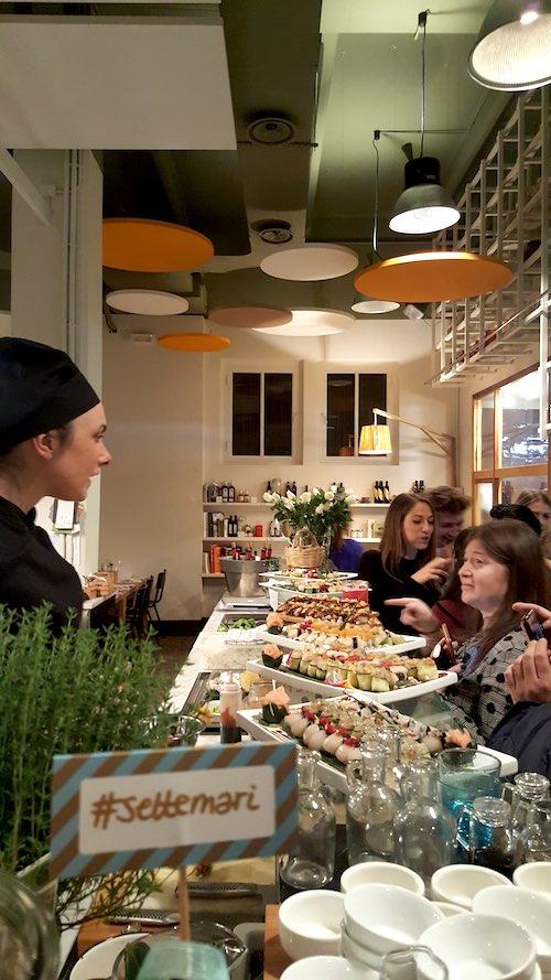 sushi da Settemari a Roma