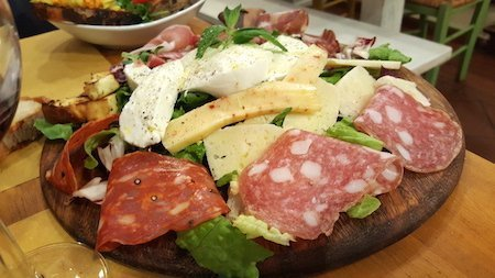 antipasto all'Osteria San Rocco