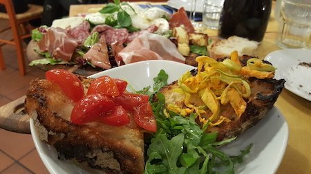 bruschette all'Osteria San Rocco