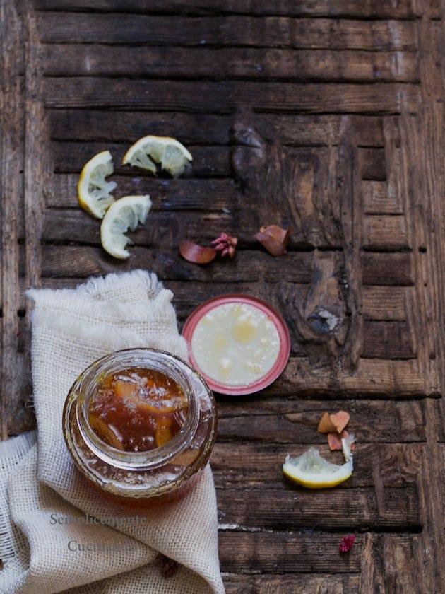 marmellata di limoni metodo ferber