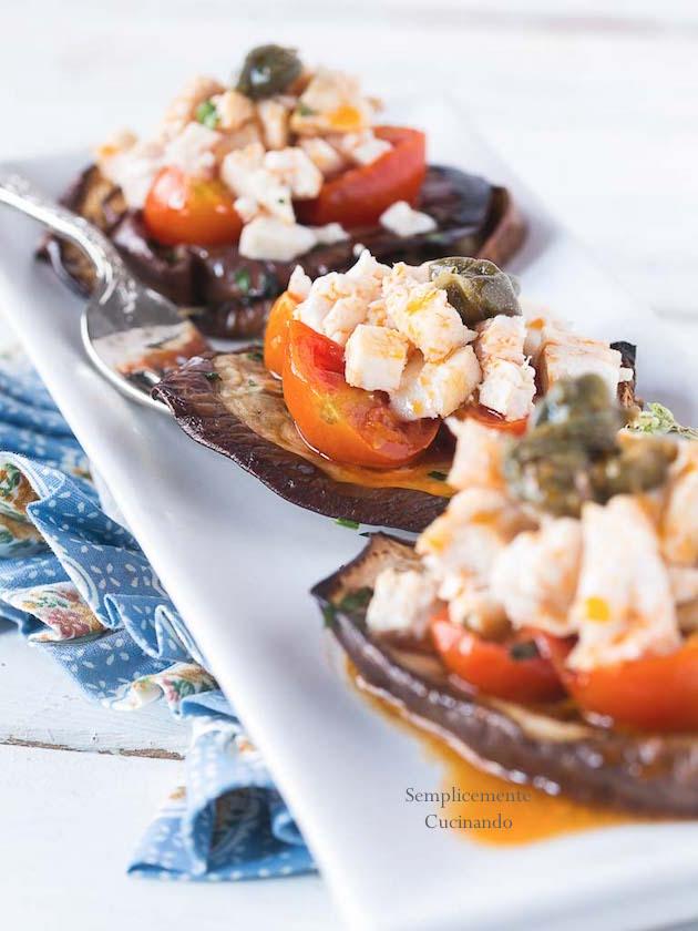 ragù di pesce spada pomodorini e melanzana