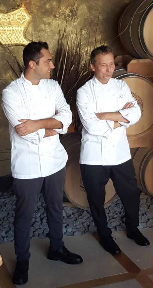 gli chef a Poggio Le Volpi