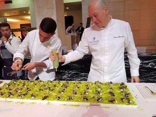 Muschio dello Chef Franco Madama da Luca Maroni 2018
