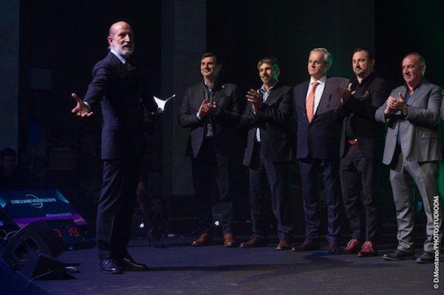 Premiazioni alla serata inaugurale de I migliori Vini Italiani di Luca Maroni 2018