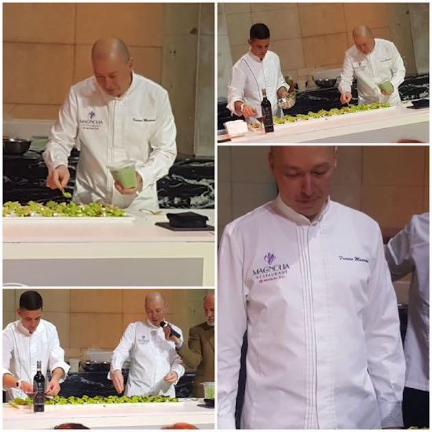 Franco Madama, Chef Stellato da Luca Maroni