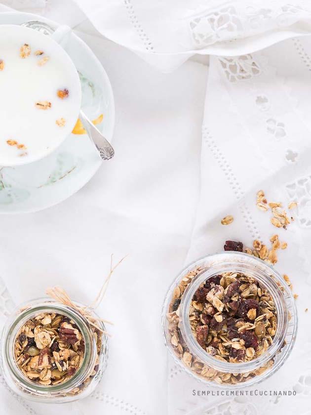 La granola: un mix spaziale