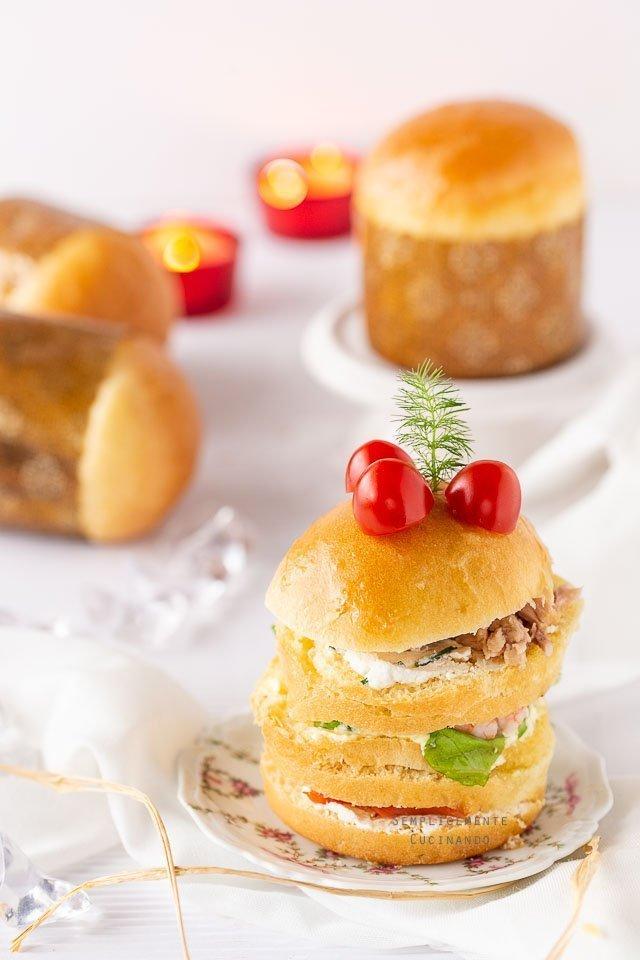 la ricetta del panettone gastronomico di E Knam
