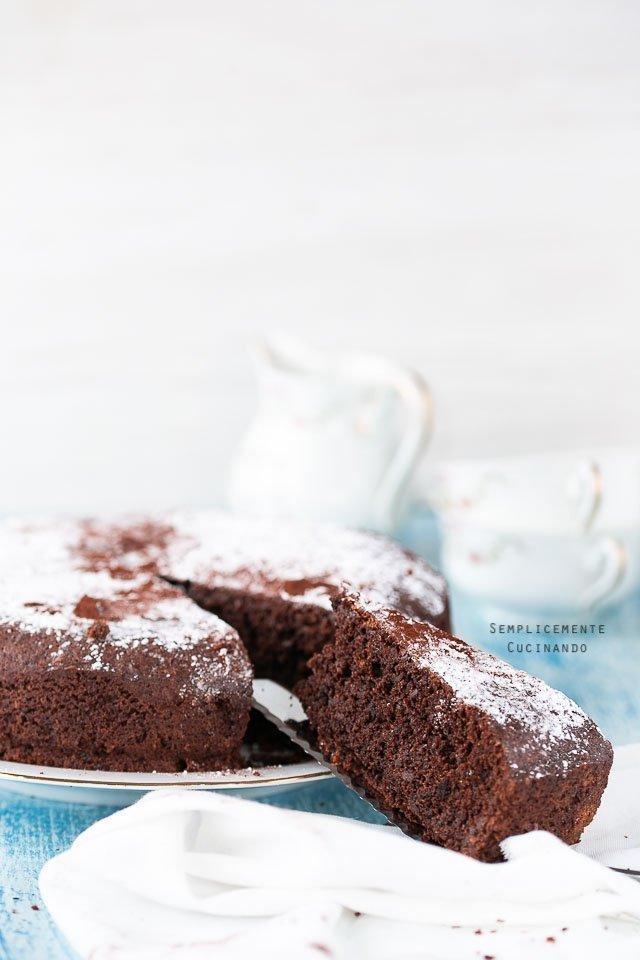 la ricetta di Sal De Riso della torta caprese