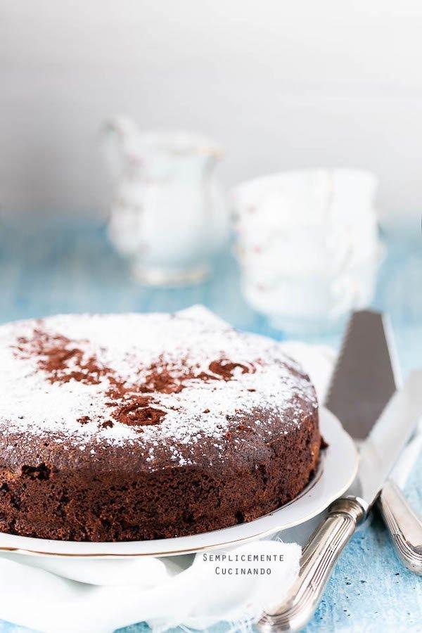 la ricetta della torta caprese di Sal De Riso