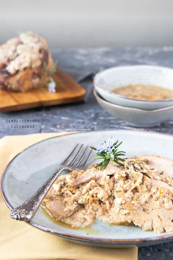 La ricetta dell'arista di maiale al latte tenera e cremosa