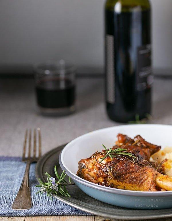 pollo in padella con aceto balsamico
