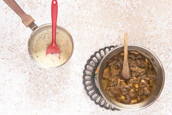 funghi trifolati per il riso funghi e gorgonzola