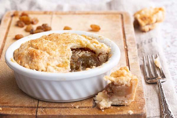 la torta di mele con uvetta: la apple pie di donna Hay
