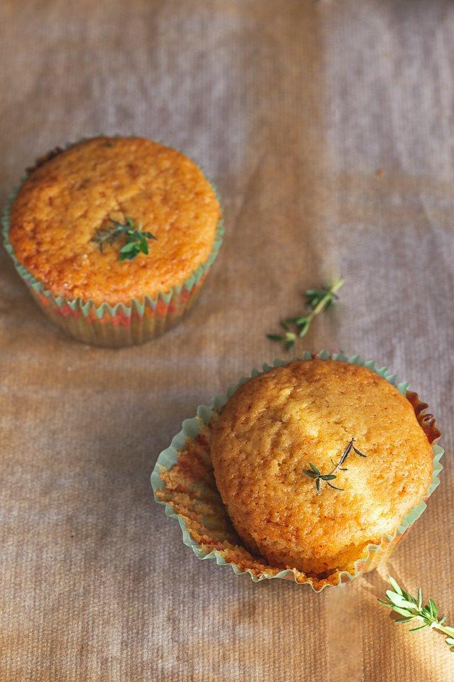 La ricetta dei muffin limone miele e timo
