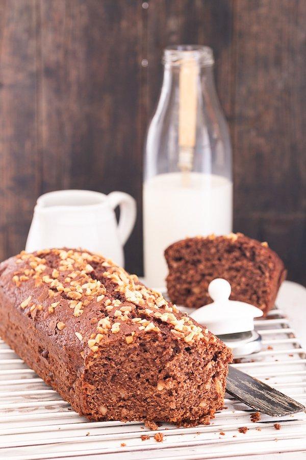 cake mandorle e cacao amaro: facile, veloce e buonissimo
