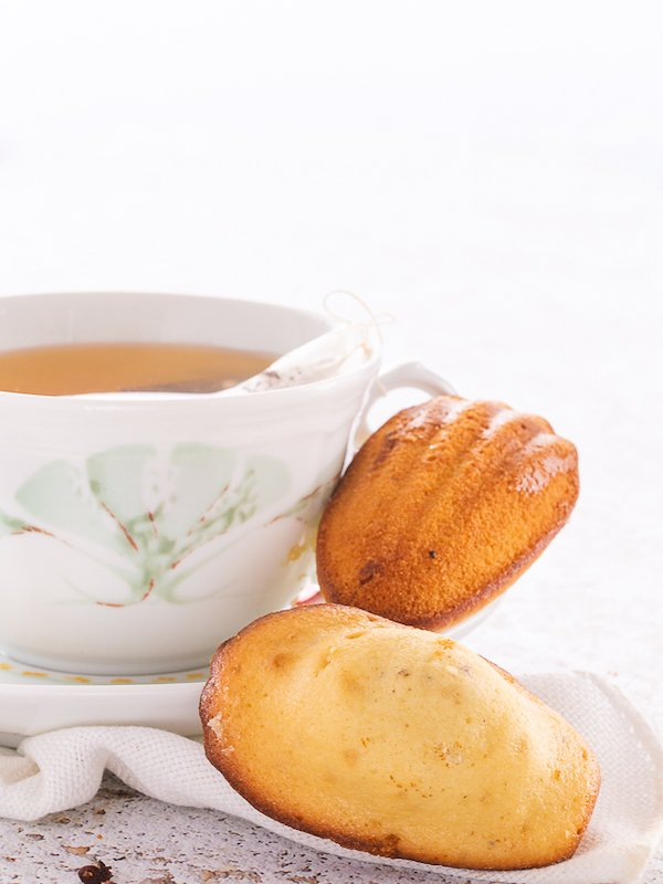 la ricetta delle madeleine al pepe di Sichiuan