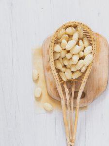 gnocchi di patate per il primo piatto gnocchi funghi e stracchino
