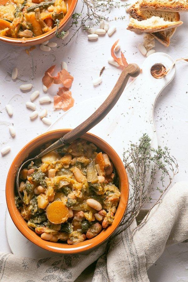 la ricetta della ribollita toscana